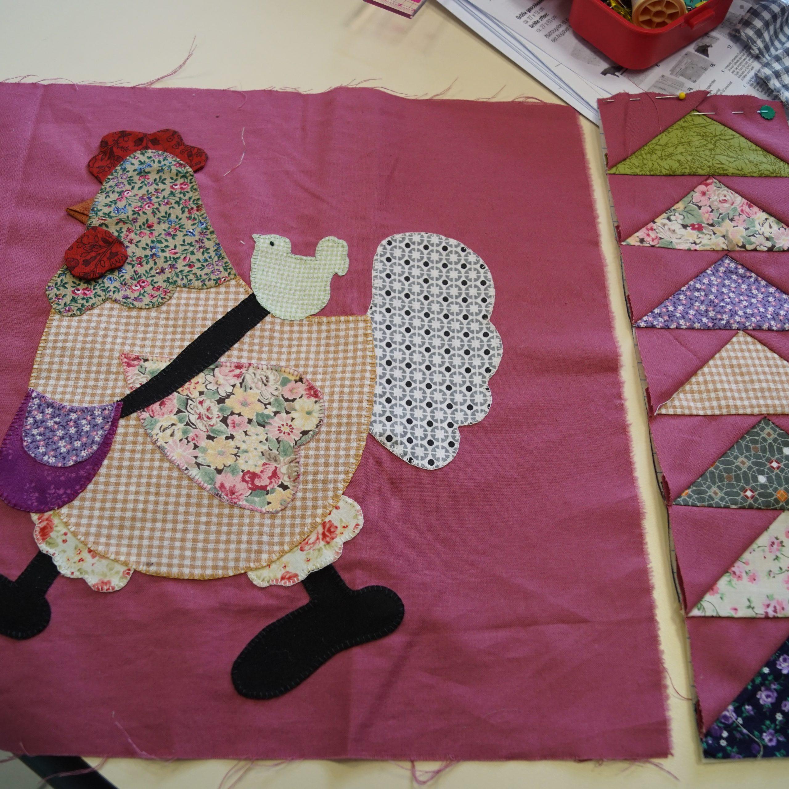 Couture et patchwork