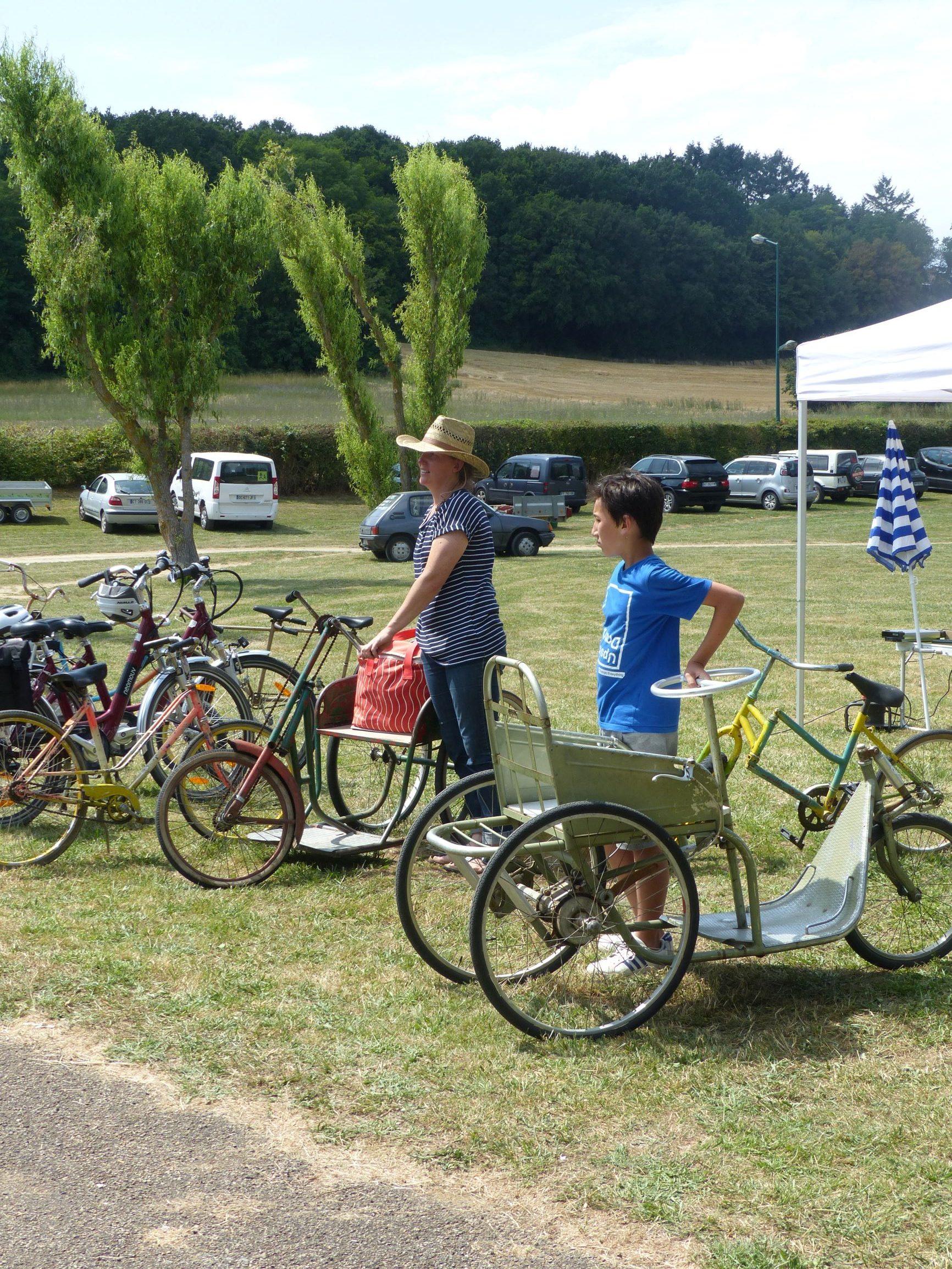 Vélos et sièges à pédale