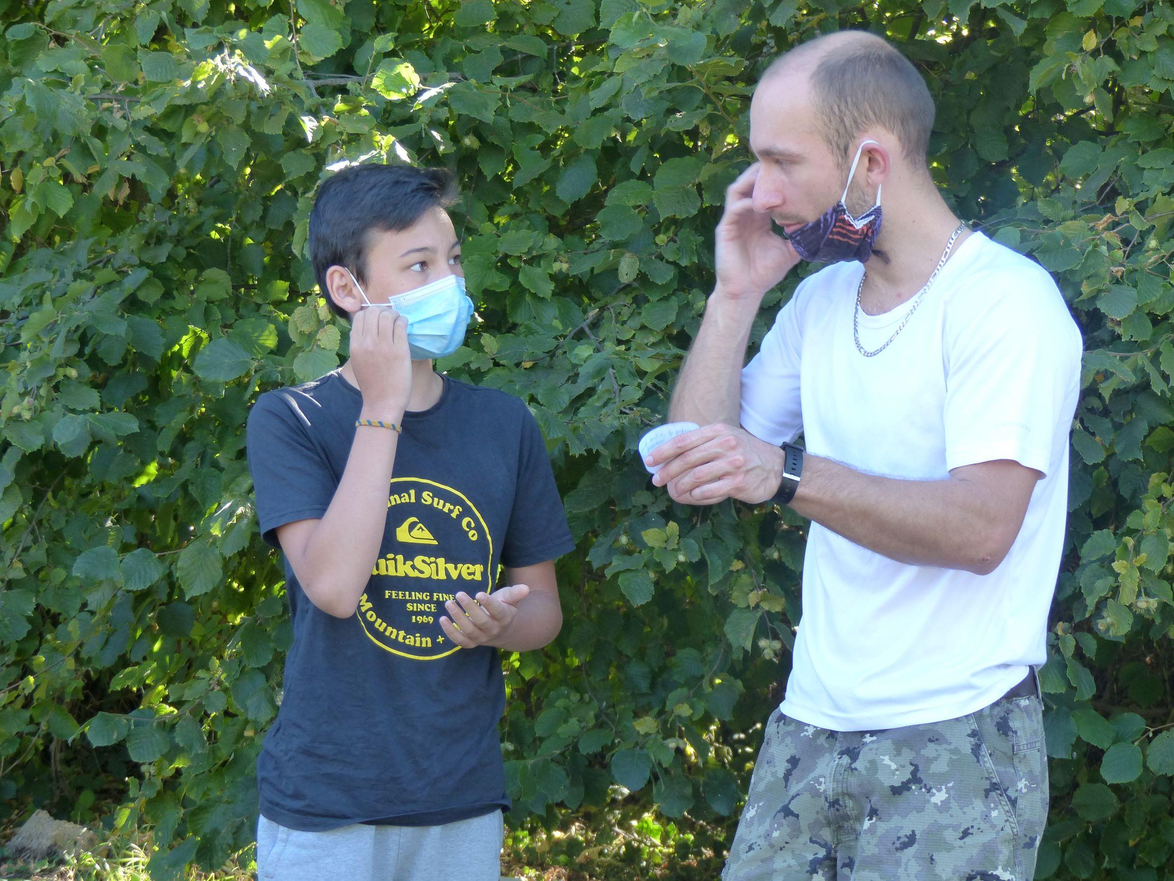 Apprentissage de la langue des signes